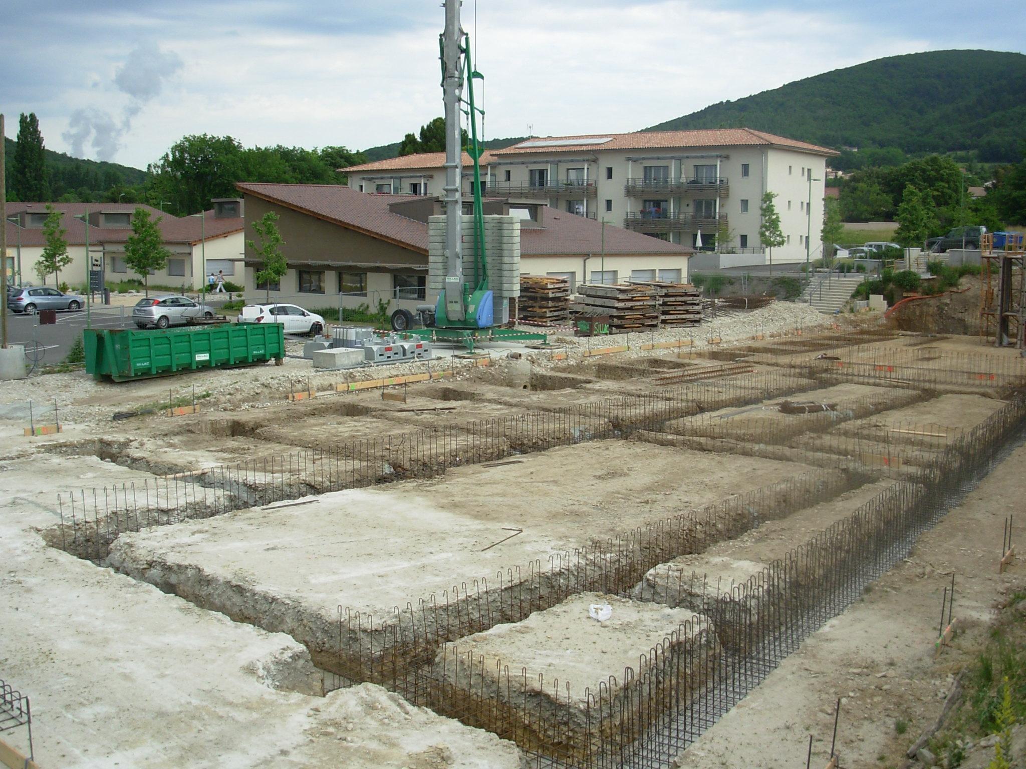 Dojo construction 15 juin 2013